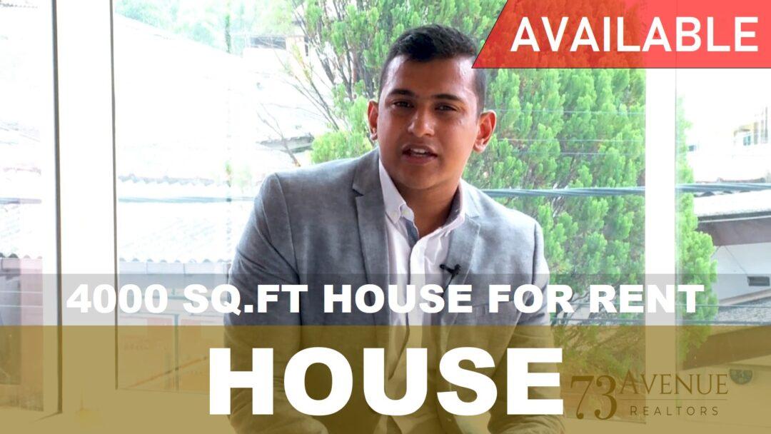 Modern House for Rent   73Avenue Sri Lanka