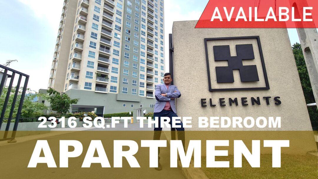 Fairway Elements – Garden Terrace Apartment for Sale   73Avenue Sri Lanka