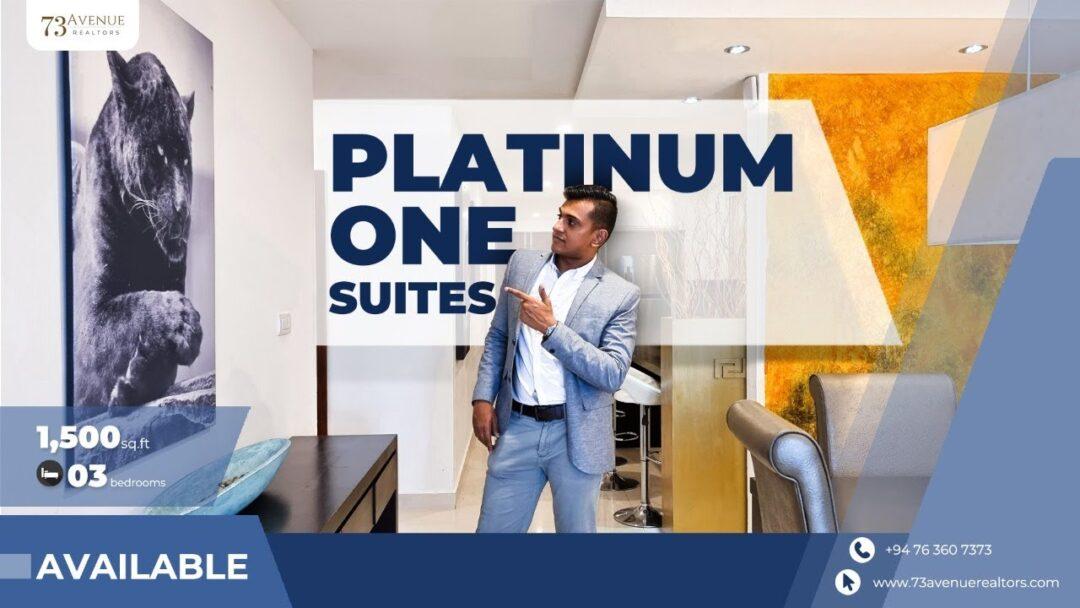 Platinum One Suites Apartment For Sale, Colombo 03   73Avenue Sri Lanka