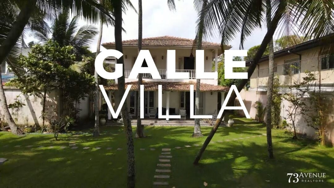 Luxury Beach Front Villa In Galle For Sale!
